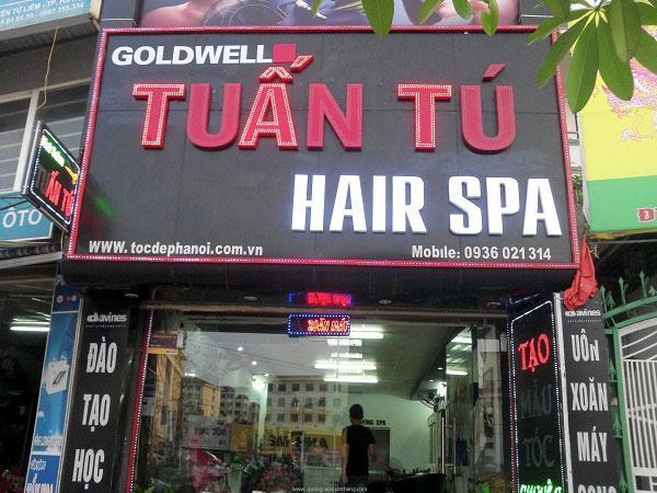 bảng hiệu salon tóc