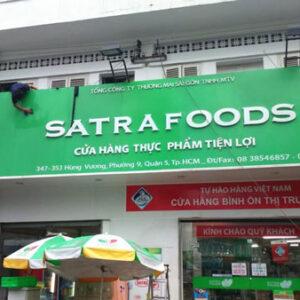 bảng hiệu siêu thị mini