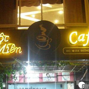 bảng quảng cáo quán cafe