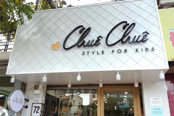 bảng hiệu shop thời trang