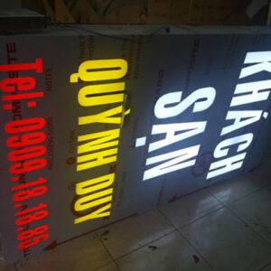 hộp đèn alu âm bản